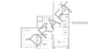 irwell-hill-residences-floor-plan-2-bedroom-classic-Type-B1(b)