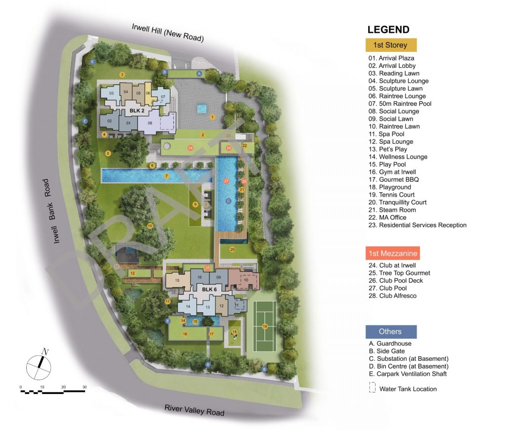 irwell-hill-residences-site-plan-by-CDL-singapore