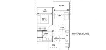 irwell-hill-residences-floor-plan-1-bedroom-study-Type-A3S(b)