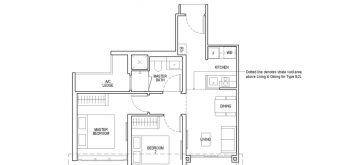irwell-hill-residences-floor-plan-2-bedroom-classic-Type-B2(b)