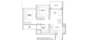 irwell-hill-residences-floor-plan-2-bedroom-classic-Type-B3(b)