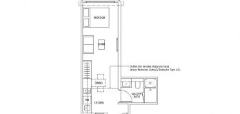 irwell-hill-residences-floor-plan-studio-Type-A1